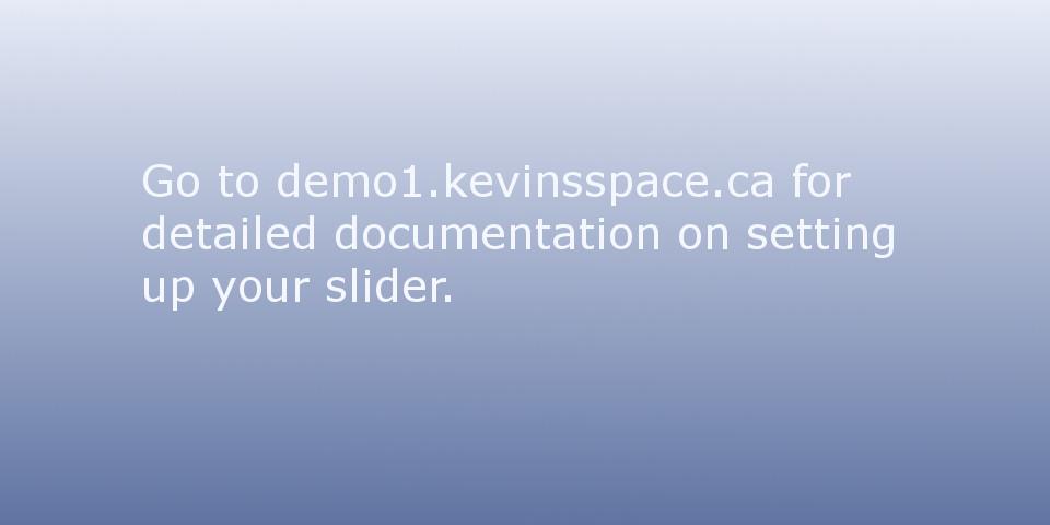 Default Feature Slide